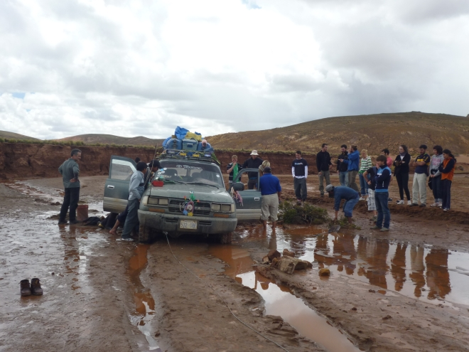 Bolivianisches Abenteuer von Tupiza nach Uyuni