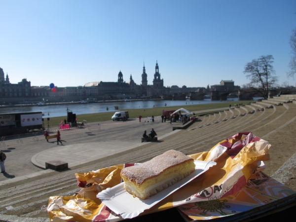 An Louise führt in Dresden kein Weg vorbei…