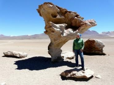 Bolivien – Auf dem Mond mit Flamingo und Lama