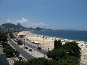 Hoch über der Copacabana beim Familienessen mit Aussicht. Bild: Doris N.