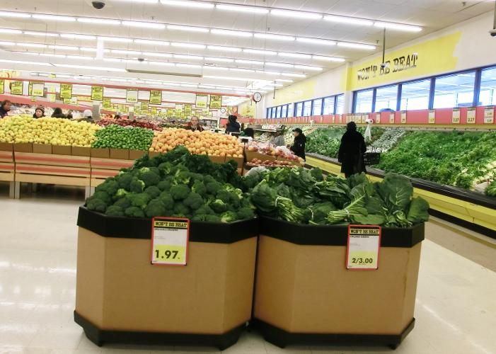 Grün im großen weißen Norden: Einkaufen und Essen gehen