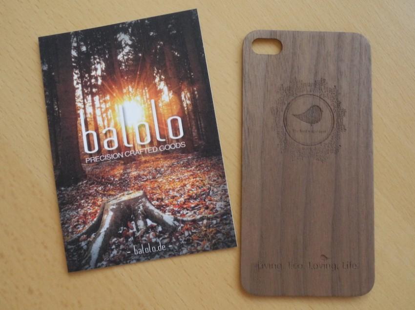 Produkt-Review: Echtholz-Smartphonecover von balolo