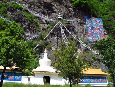 Lingkor - farbenprächtige Stupas und Gebetspfade mitten in Österreich. Foto: Doris