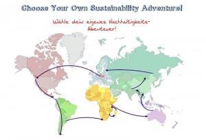 Weltkarte. Foto: Sustainability Adventure