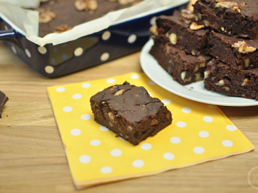 Vegane Kürbis-Brownies