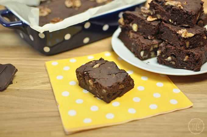 Vegane Kürbis-Brownies