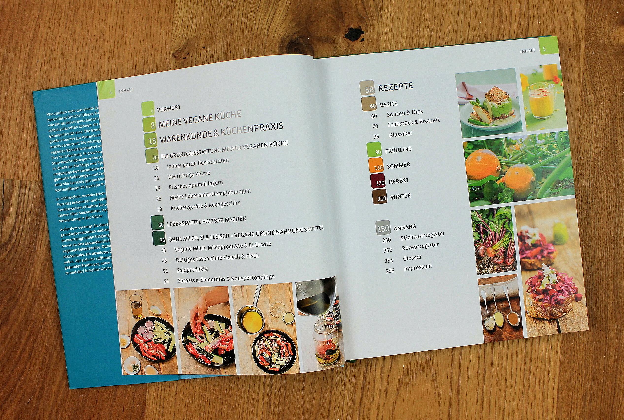 Die vegane Kochschule - Küchenpraxis · Warenkunde · 200 Rezepte\