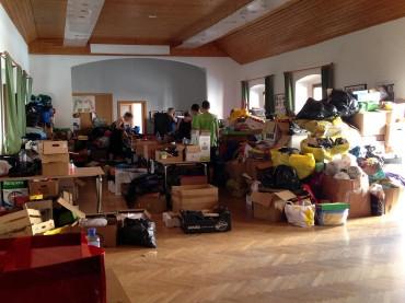 Traiskirchen – Der Weg der Spenden