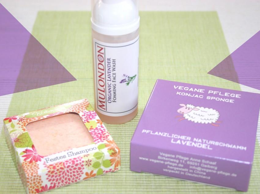 Vegane Pflege Testpaket – alles Lavendel!