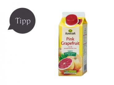Pink Grapefruit Saft von Alnatura