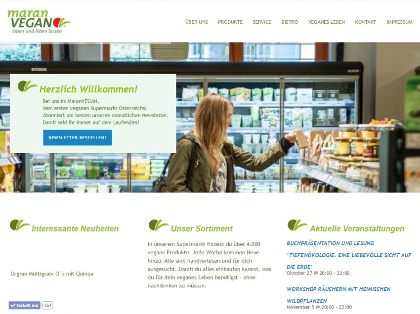maranVEGAN – Der vegane Supermarkt in Wien