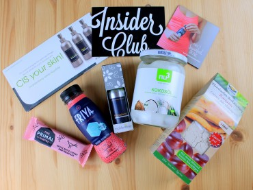 nu3 Insider Club: Vegan Treat Box Dezember 2015