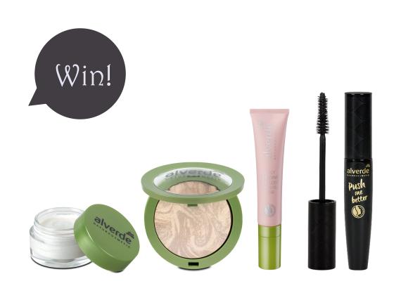 Give-Away! Gewinnt veganes Naturkosmetik-Make-up von alverde!