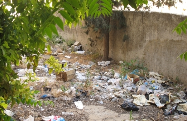 Die Müllberge sind ein großes Problem in Jordanien. Foto: Doris