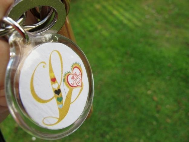 So sieht der Schlüssel zum Glück, ähm, zur veganen Loving Hut Pension aus. Foto: Doris