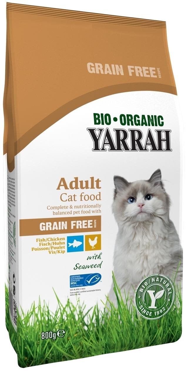 YARRAH_Grain Free_Getreidefreies Katzenfutter_trocken