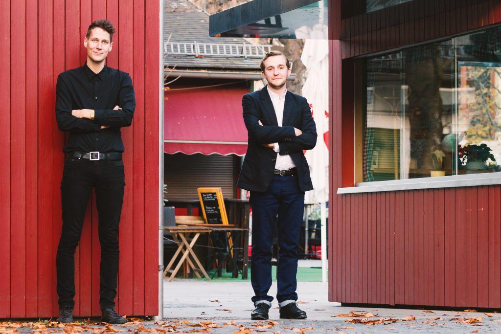 Sebastian Hoeglinger & Peter Schernhuber im Interview; credits: Lukas Maul